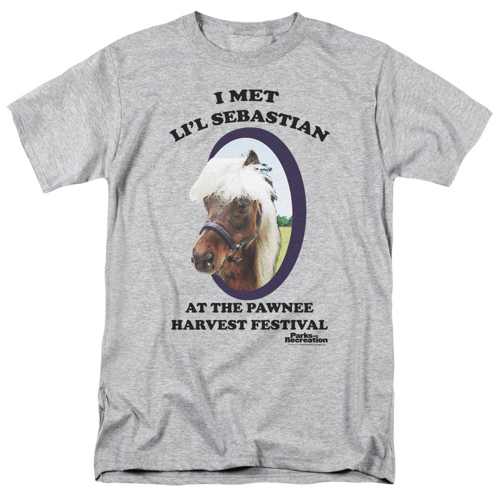 Parks And Recreation Comedy NBC TV Series Li/'L Sebastian Adult Tank Top Shirt