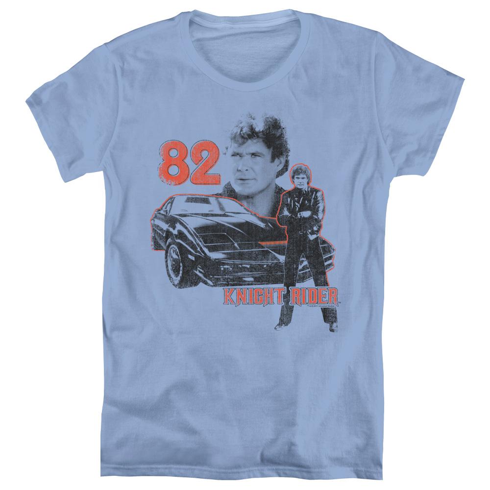Knight Rider 1982 Vintage Car Women's T-Shirt