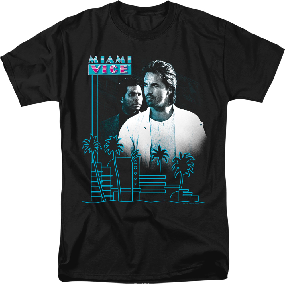 Miami Vice Looking Out