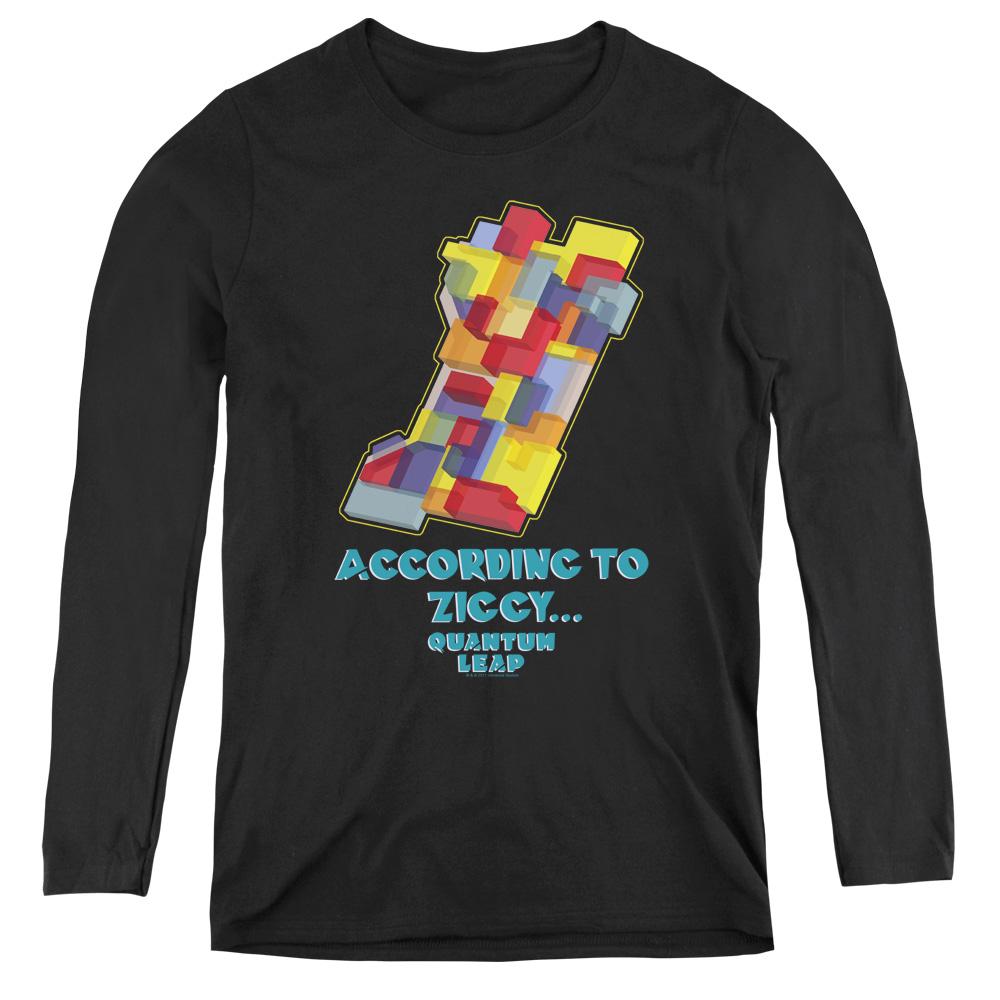 Quantum Leap According To Ziggy Women's Long Sleeve Shirt