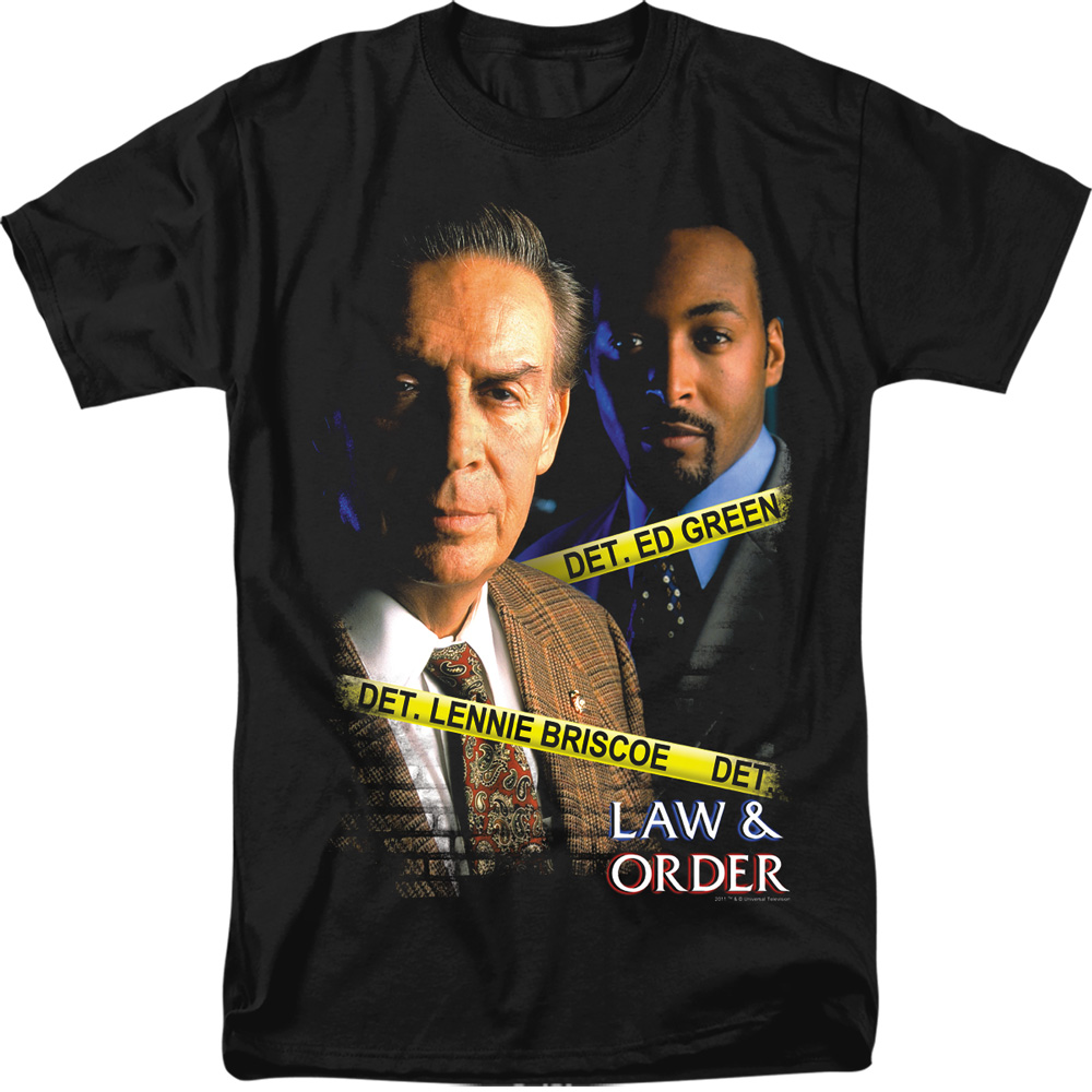 Law & Order Briscoe And Green  T-Shirt