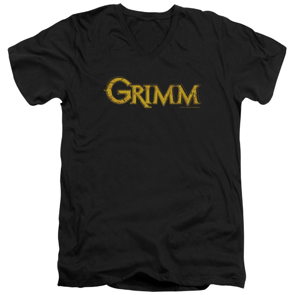 Grimm Gold Logo V-Neck T-Shirt
