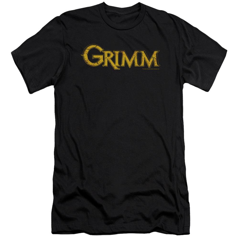 Grimm Gold Logo Slim Fit T-Shirt