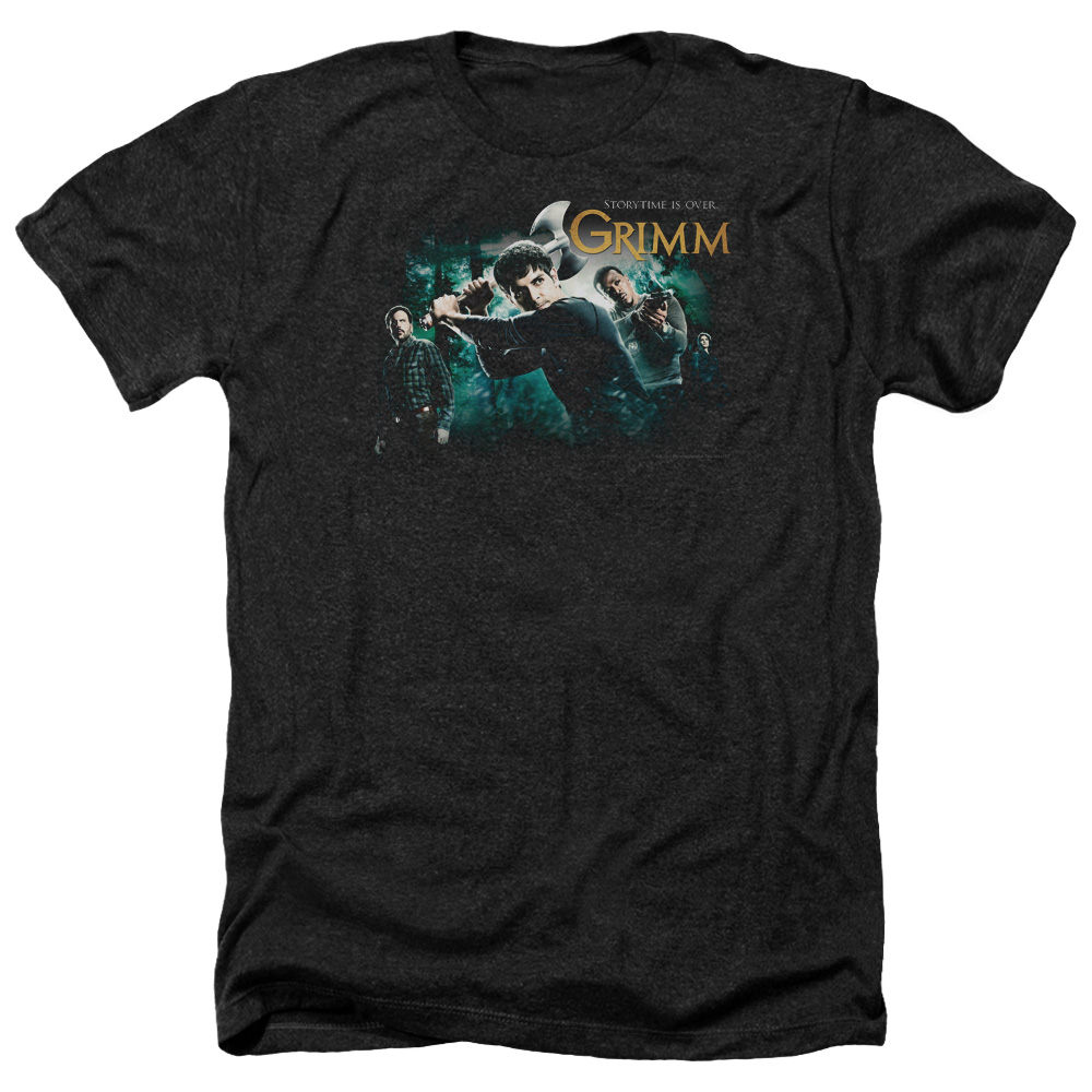 Grimm Storytime Is Over Heather T-Shirt