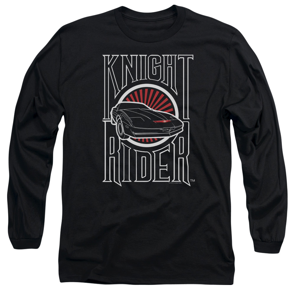 Knight Rider Logo Long Sleeve Shirt