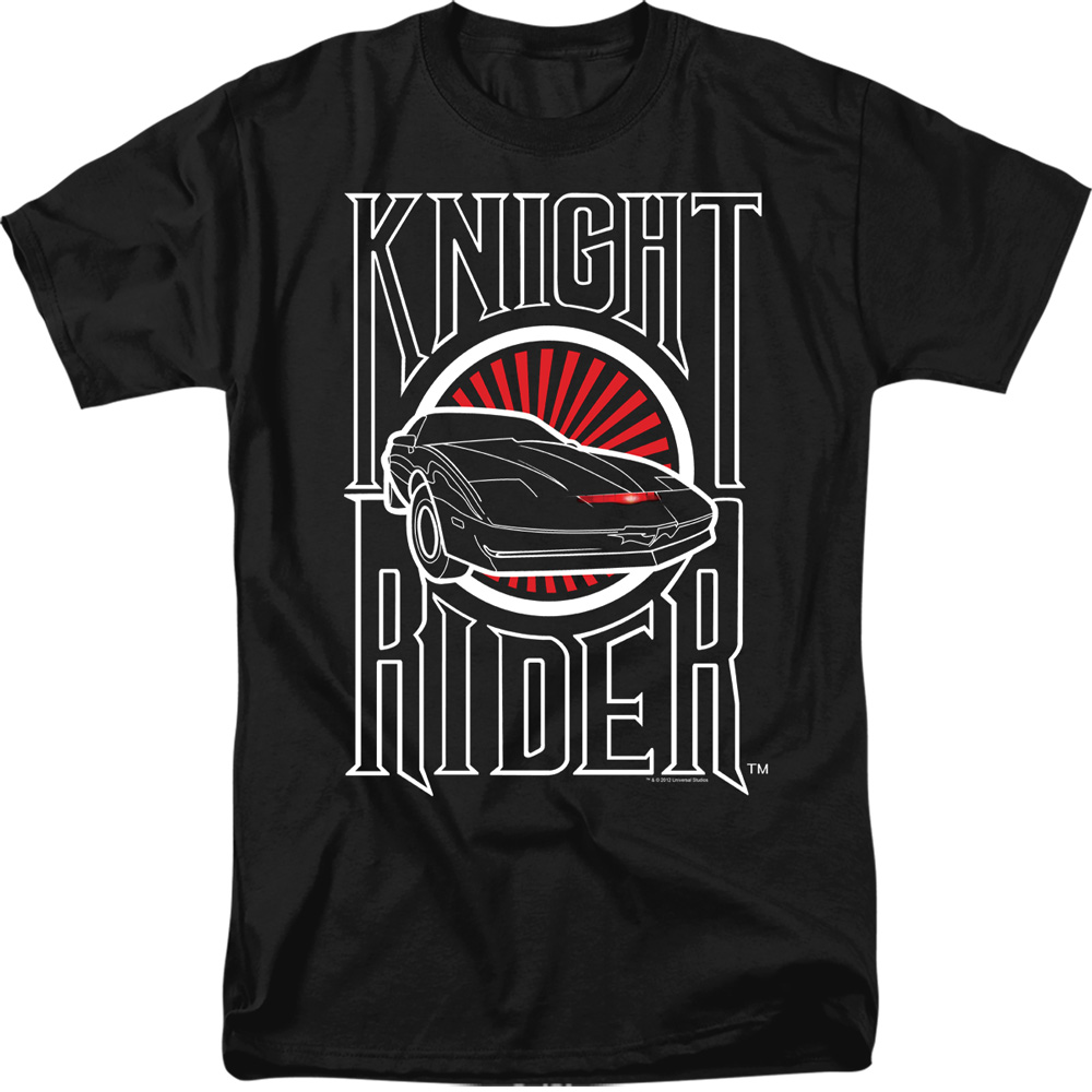 Knight Rider Logo T-Shirt
