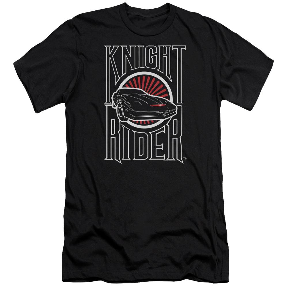 Knight Rider Logo Premium Slim Fit T-Shirt