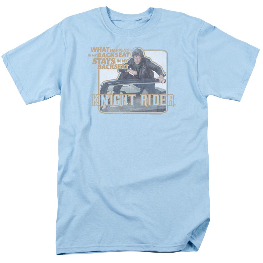 Knight Rider Back Seat T-Shirt