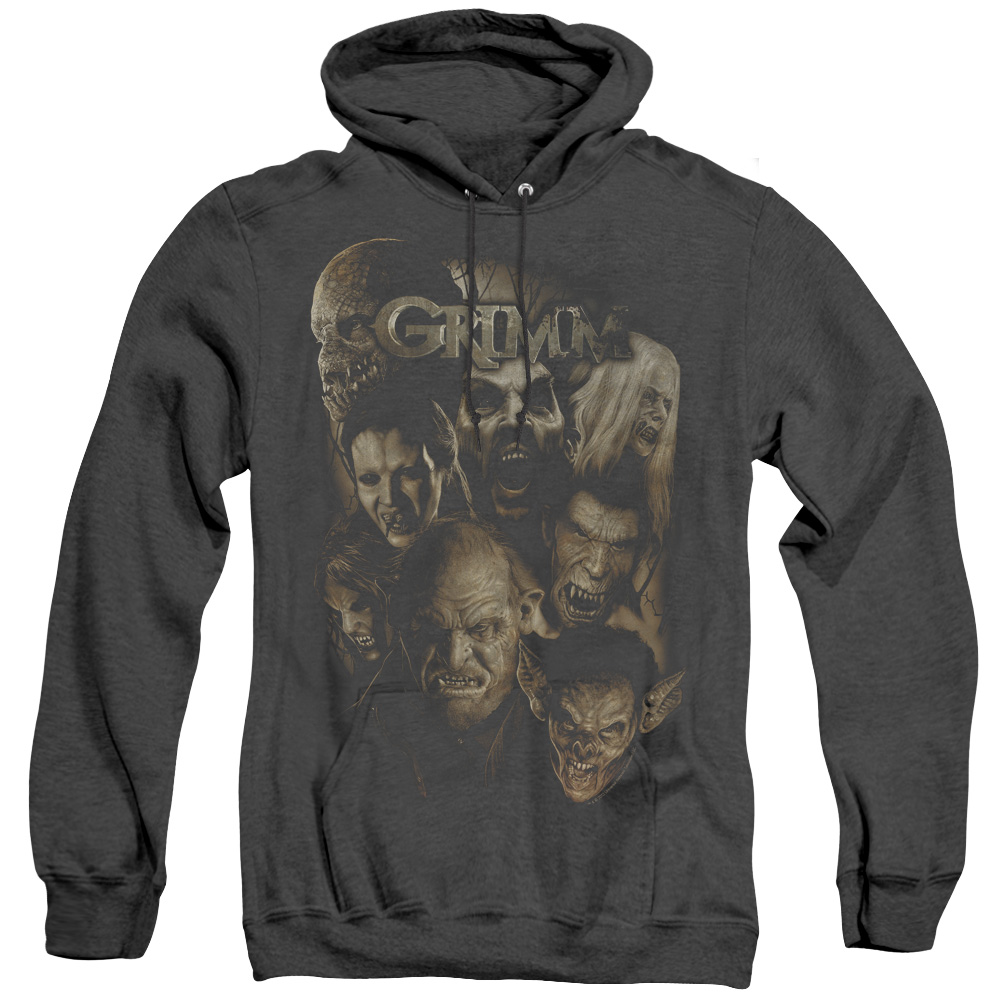 Grimm Wesen Adult Heather Hoodie