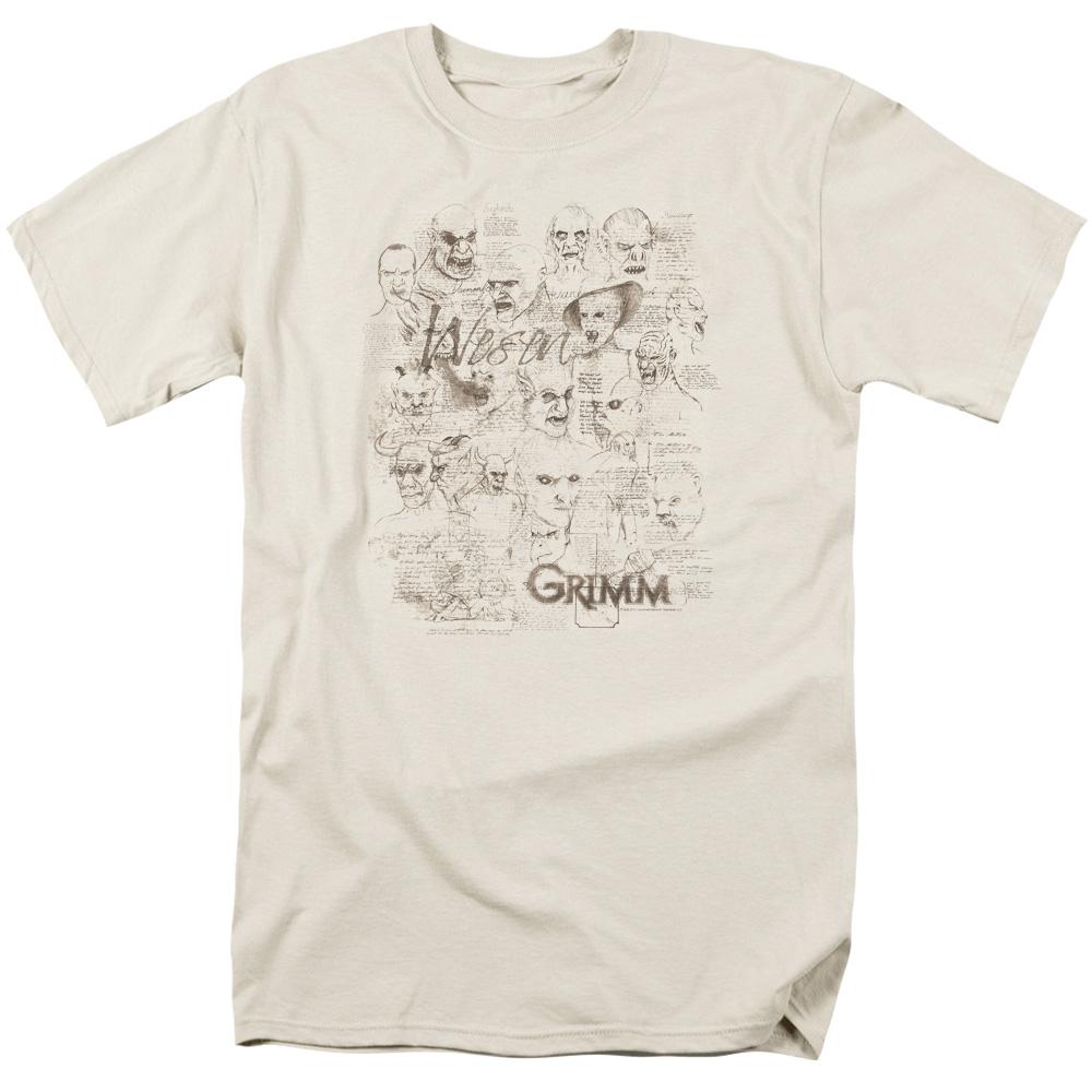 Grimm Wesen Sketches