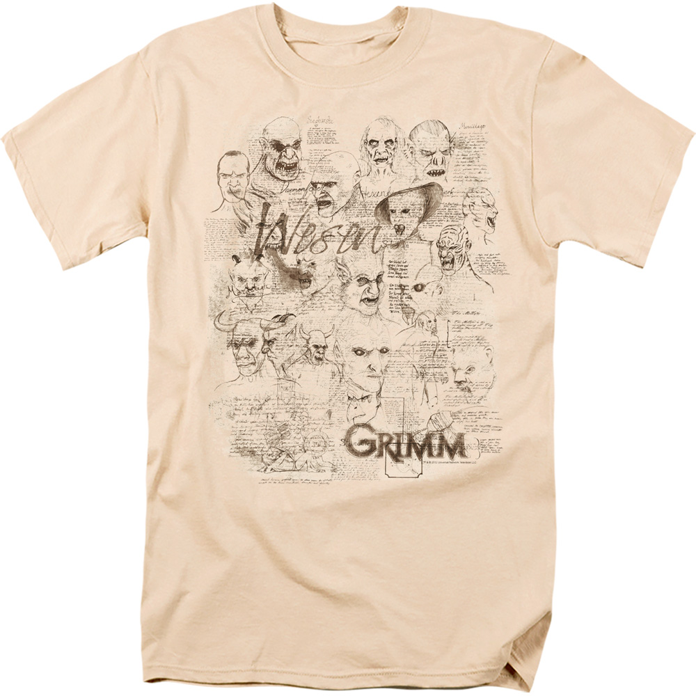 Grimm Wesen Sketches T-Shirt