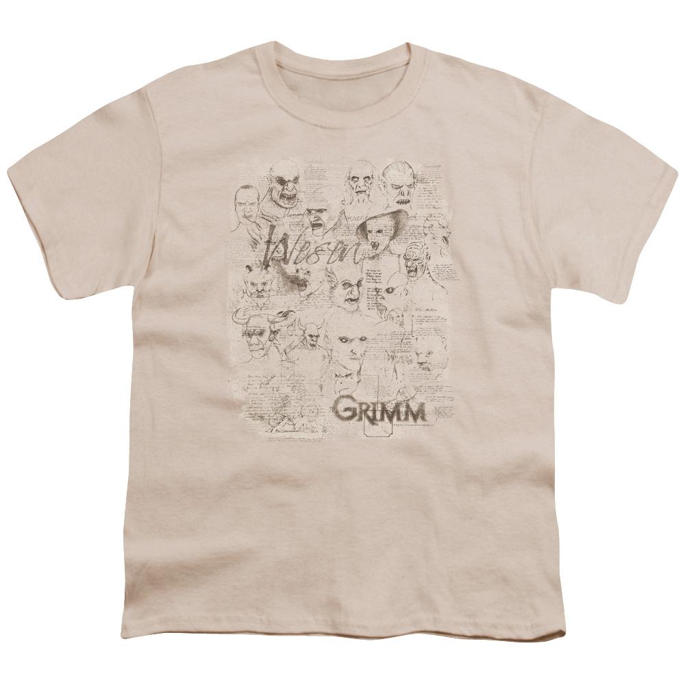 Grimm Wesen Sketches Kids T-Shirt