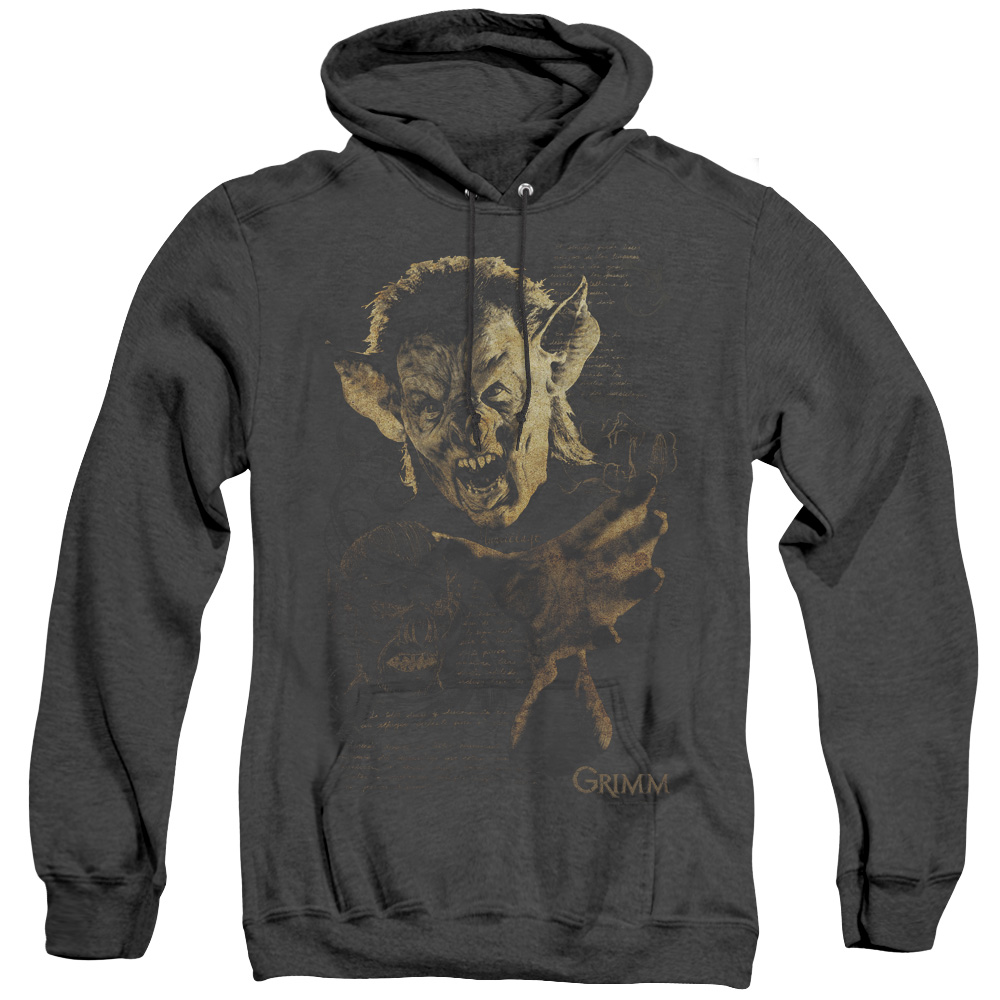 Grimm Murcielago Adult Heather Hoodie