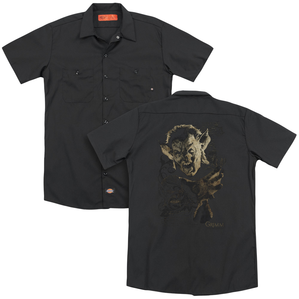 Grimm Murcielago Work Button Up Shirt