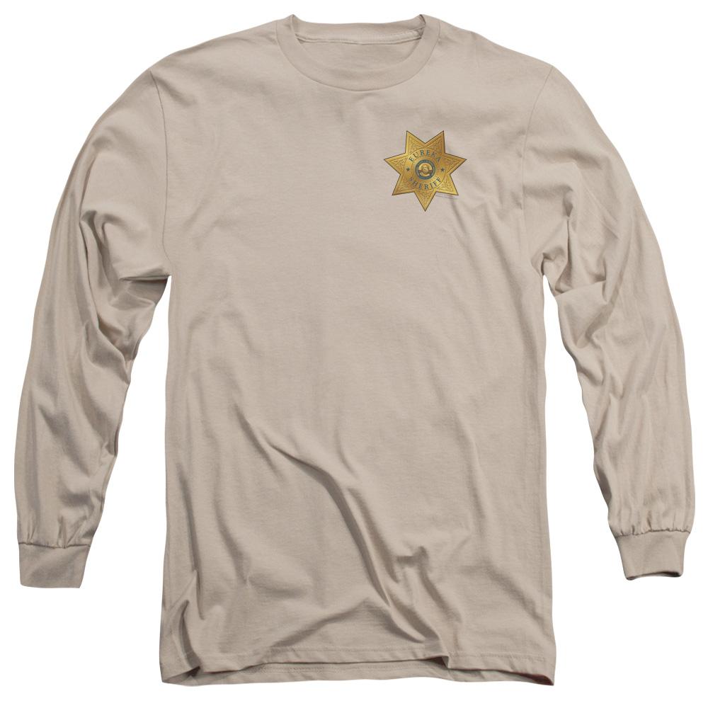 Eureka Badge On Pocket Long Sleeve Shirt