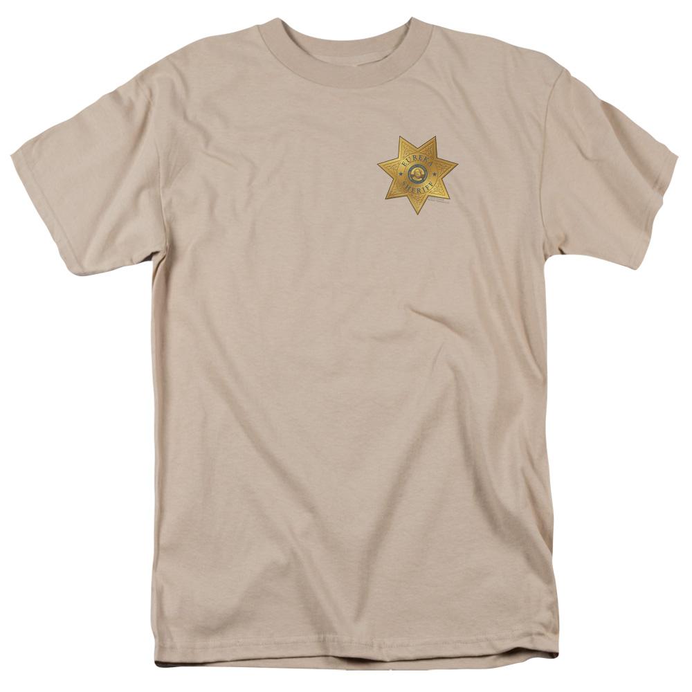 Eureka Badge On Pocket T-Shirt