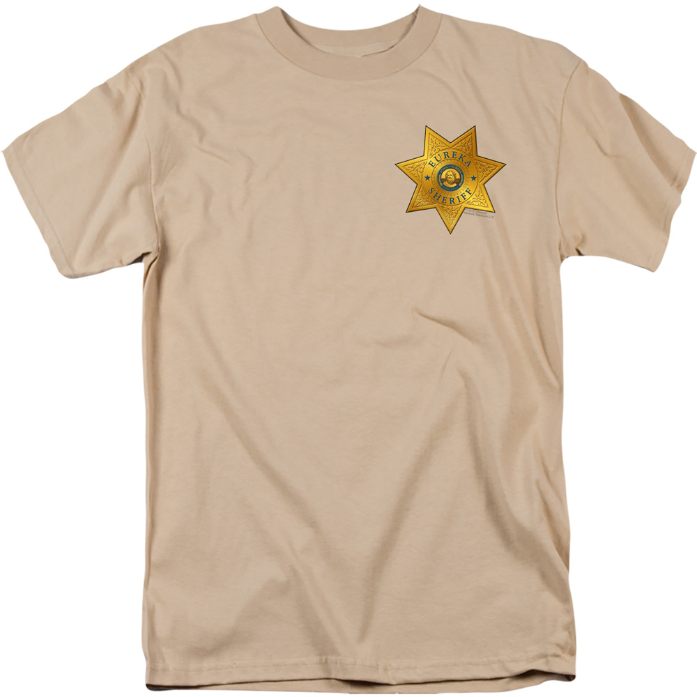 Eureka Badge On Pocket T-Shirt