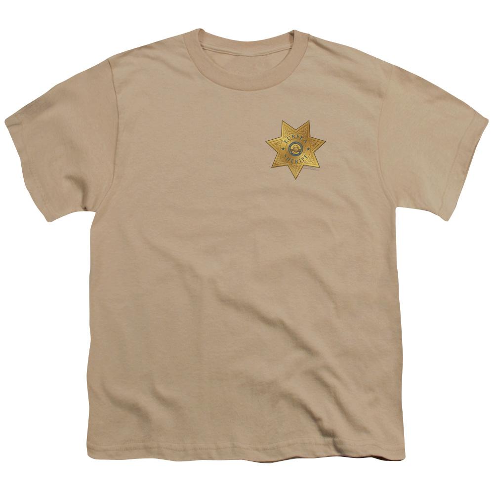 Eureka Badge On Pocket Kids T-Shirt