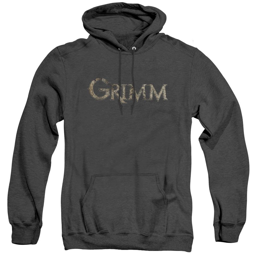 Grimm Logo Adult Heather Hoodie
