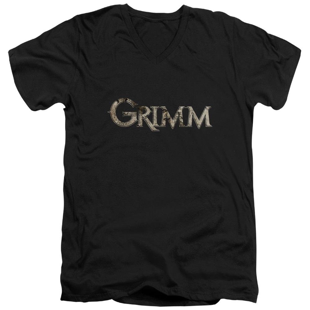 Grimm Logo V-Neck T-Shirt