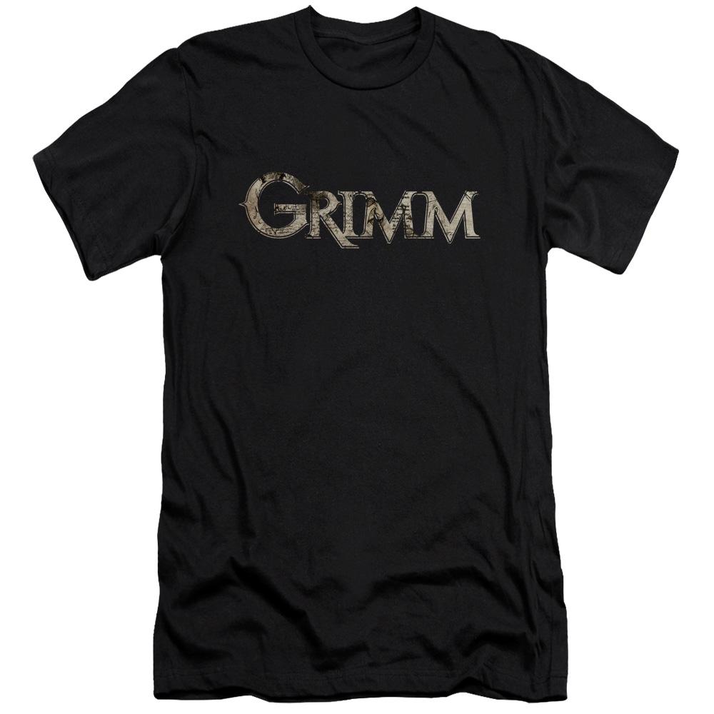 Grimm Logo Slim Fit T-Shirt