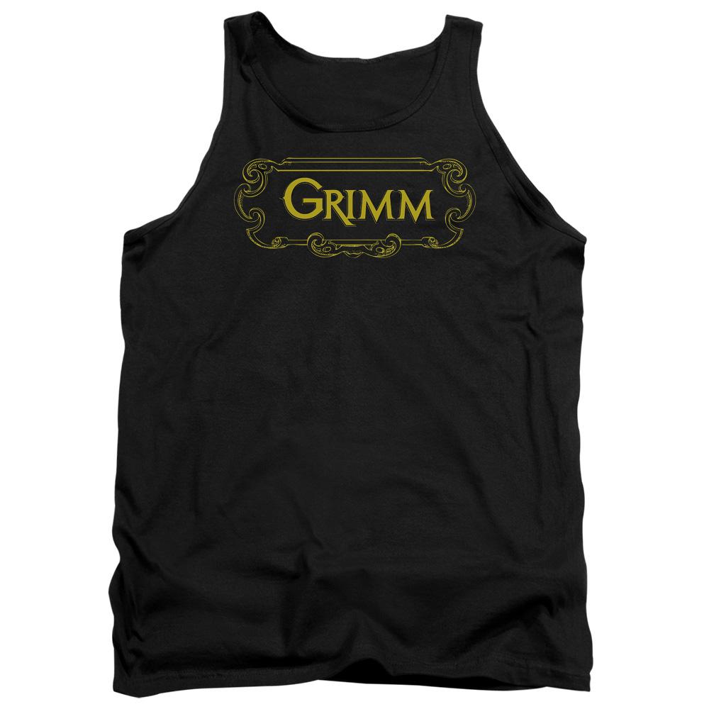 Grimm Plaque Logo Tank Top
