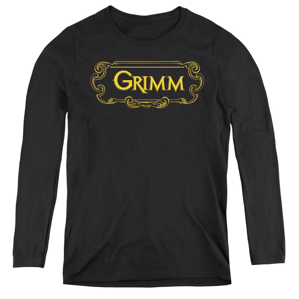 Grimm Plaque Logo Adult Work Shirt
