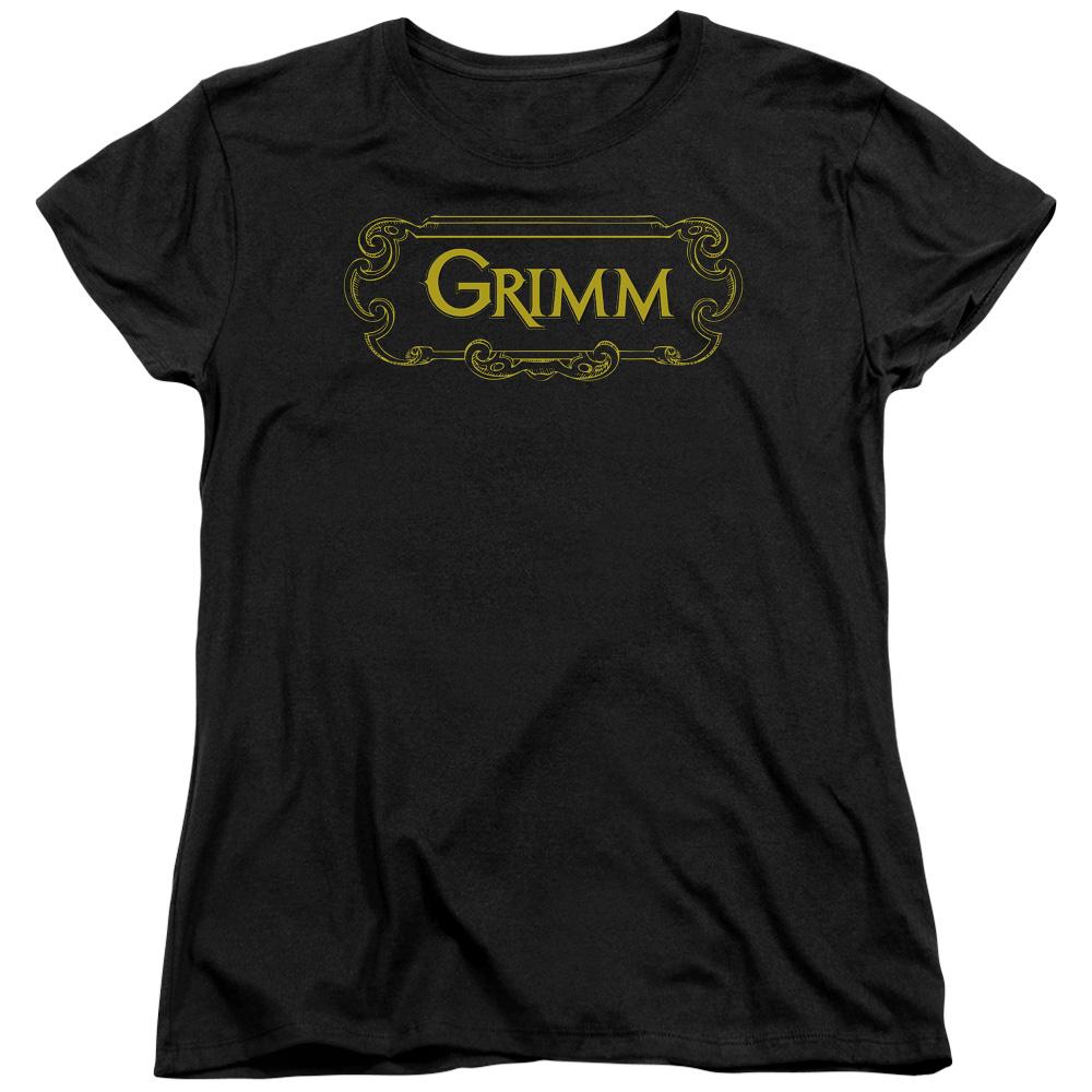 Grimm Plaque Logo Women's T-Shirt