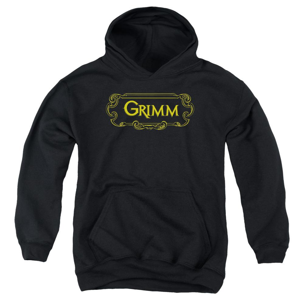 Grimm Plaque Logo Kids Hoodie