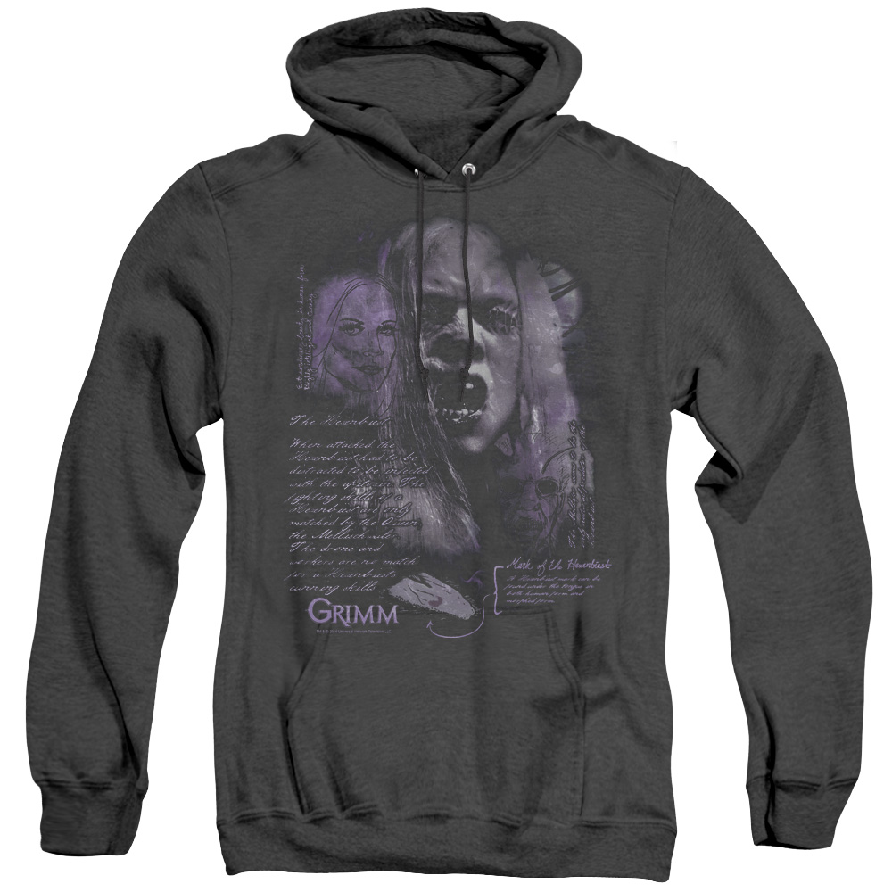 Grimm Lady Hexenbeast Adult Heather Hoodie