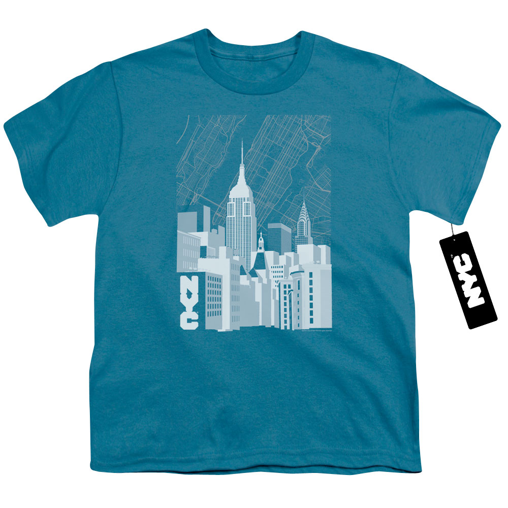 Manhattan Monochrome Kids T-Shirt