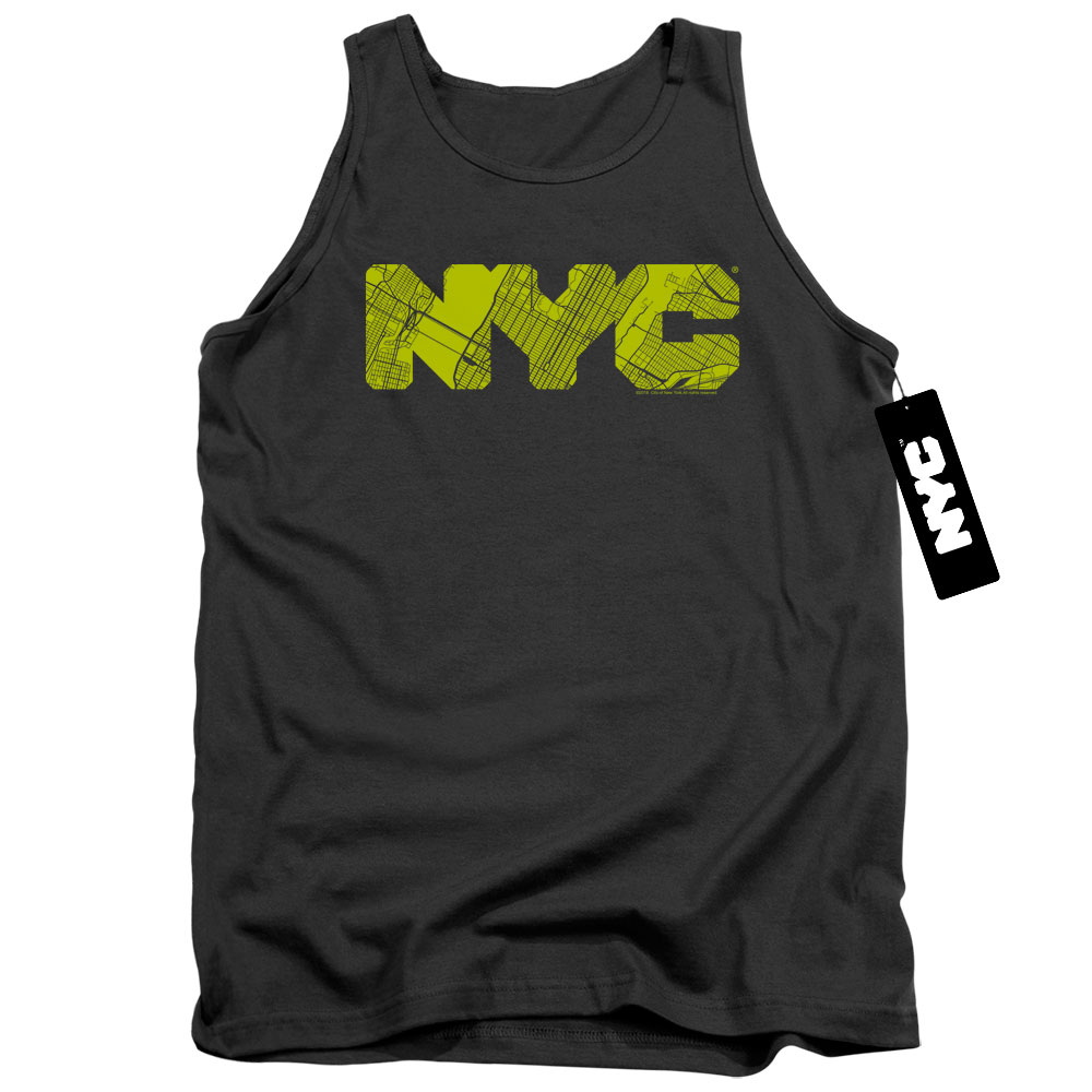 Map Fill of New York City Tank Top