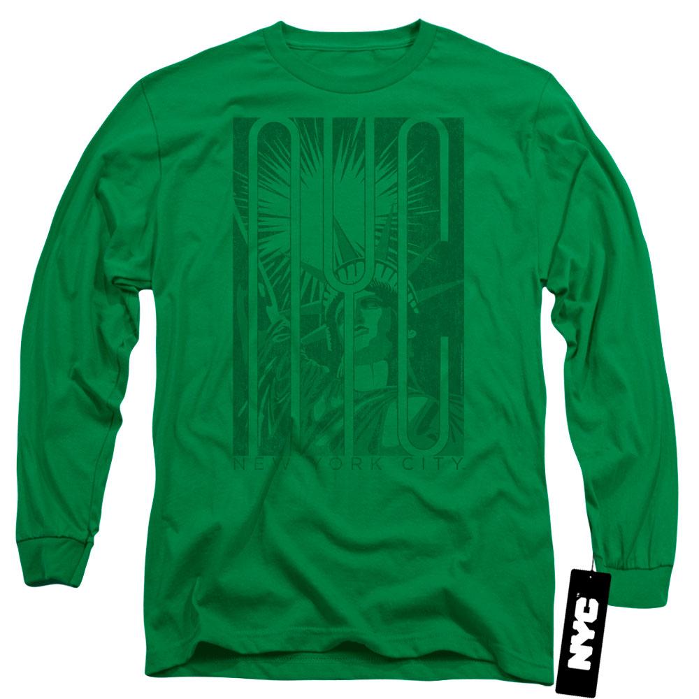 New York City Liberty Long Sleeve Shirt