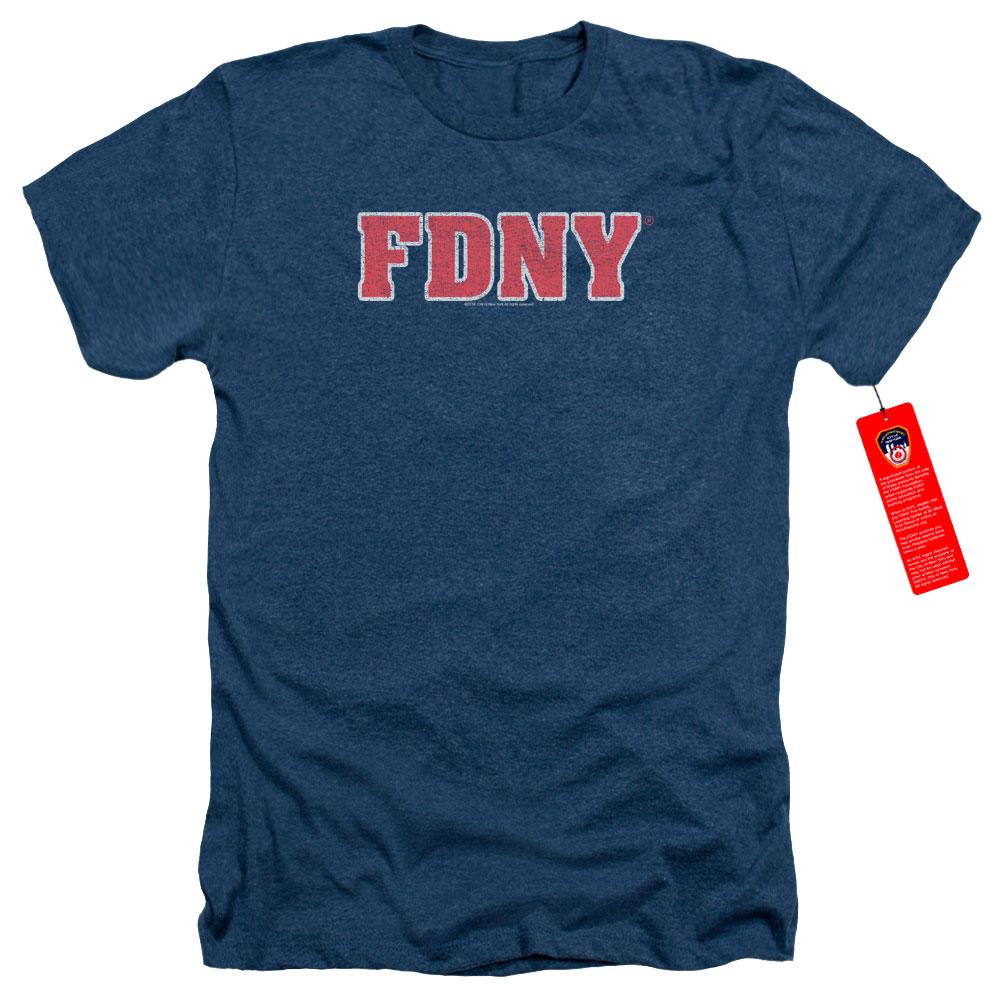 New York City Fire Department Heather T-Shirt