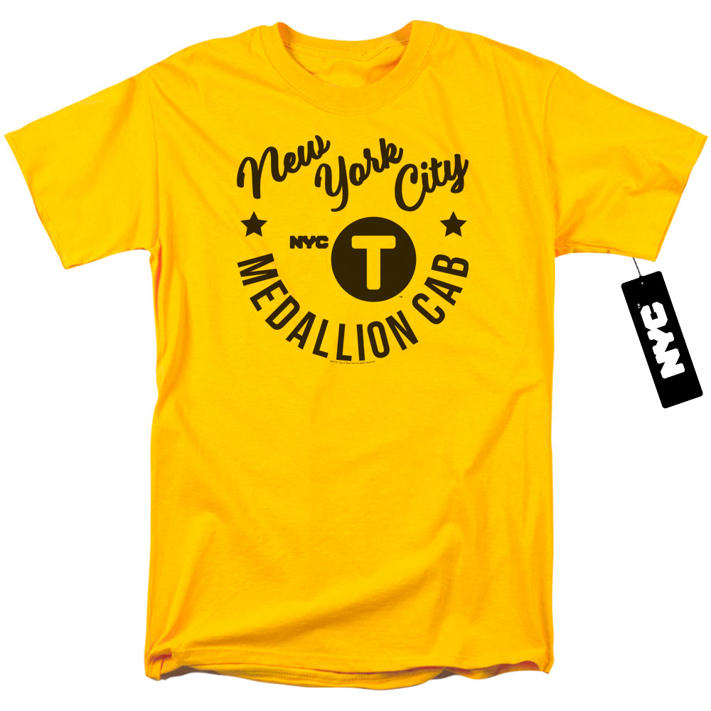 New York City - NYC Hipster Taxi T-Shirt