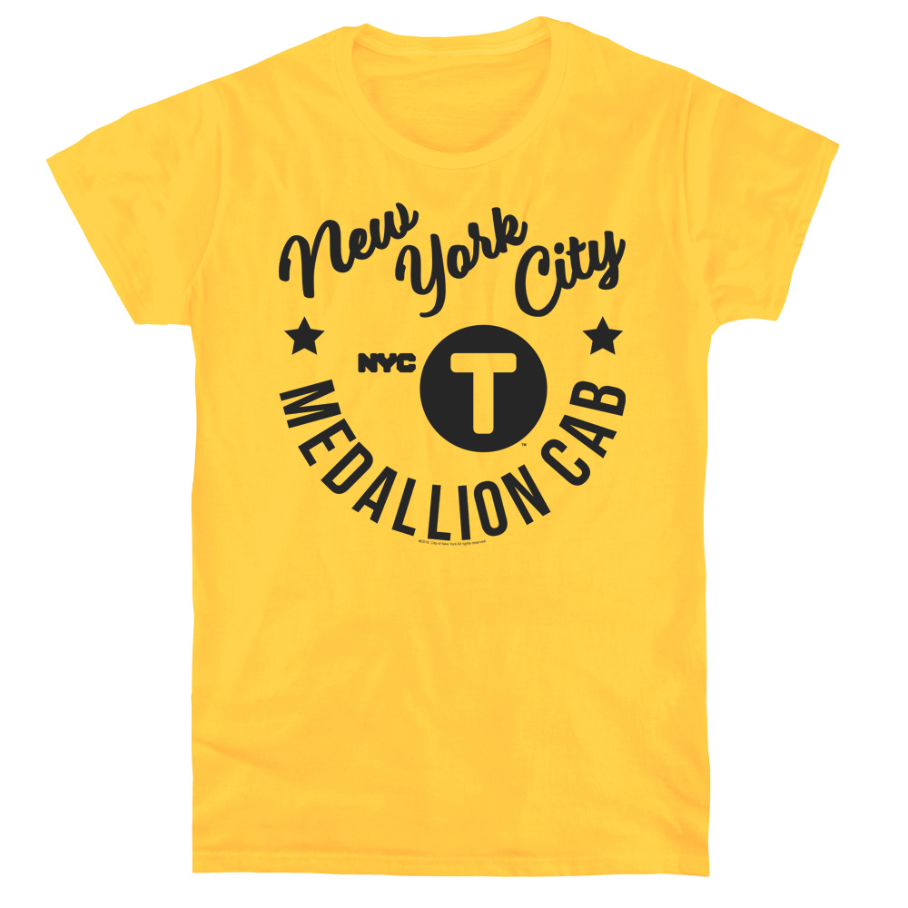 New York City - NYC Hipster Taxi Women's T-Shirt