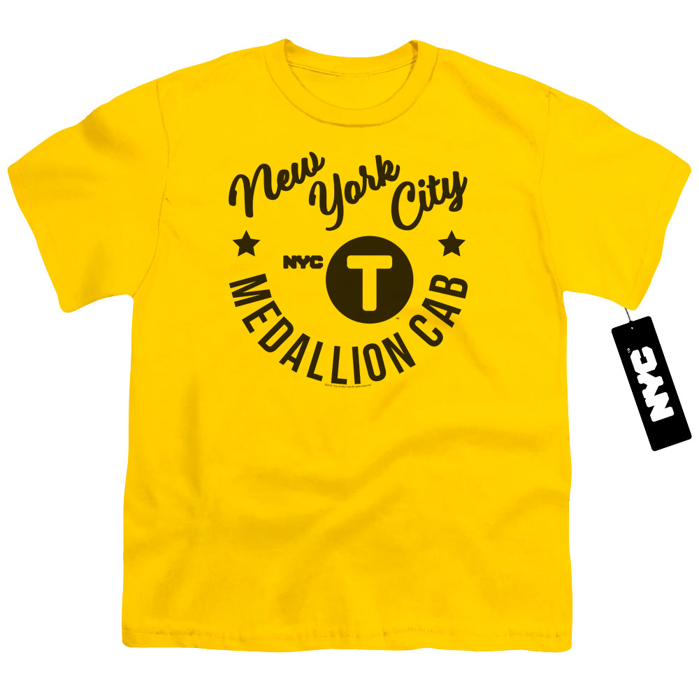 New York City - NYC Hipster Taxi Kids T-Shirt