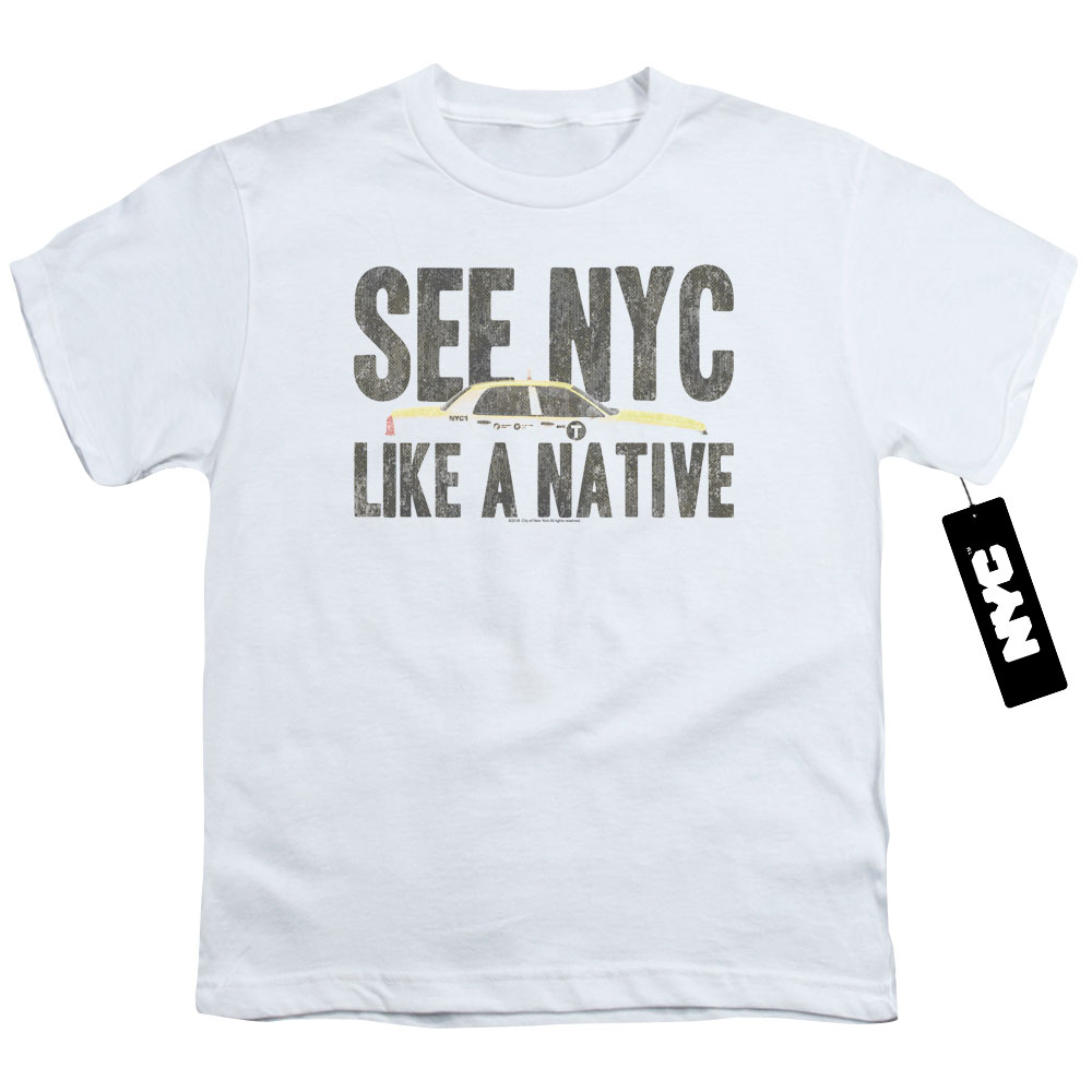 See NYC Like A Native Kids T-Shirt
