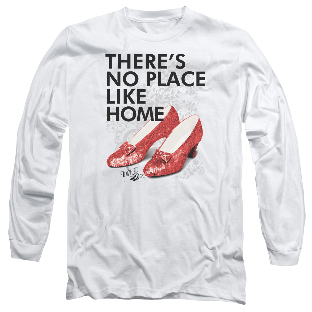 No Place Like Home Wizard of Oz Long Sleeve Shirt