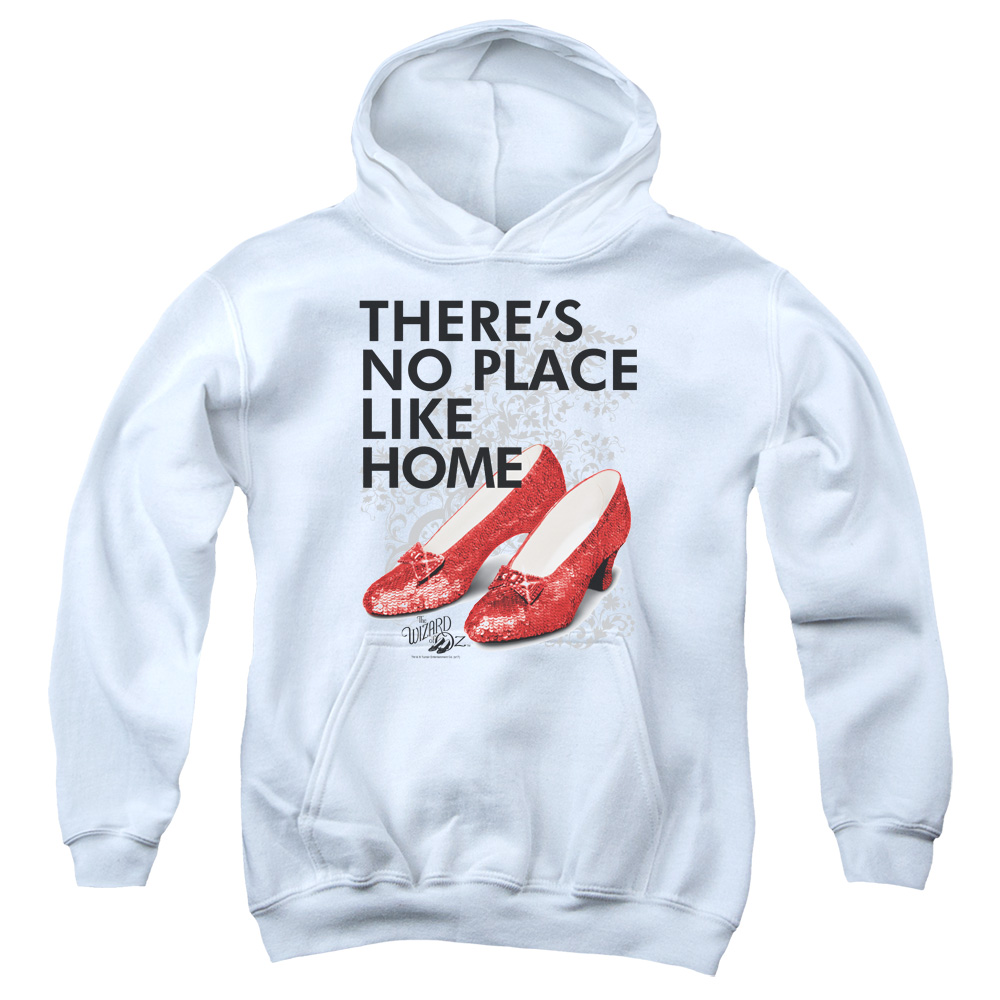 No Place Like Home Wizard of Oz Kids Hoodie