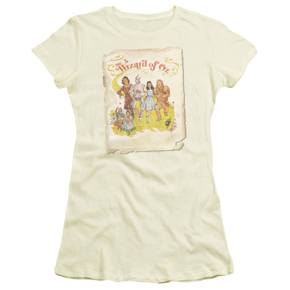 Poster of The Wizard of Oz Junior Fit T Shirt