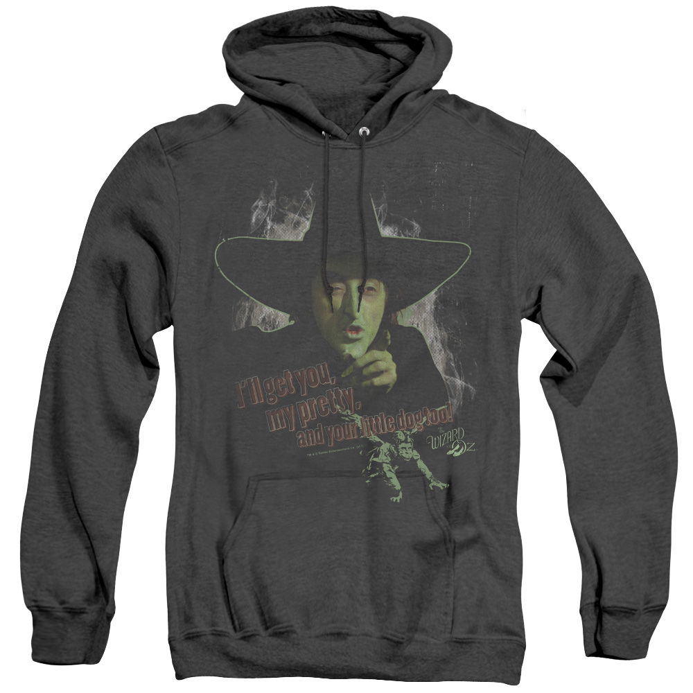 And Your Little Dog Too Wizard of Oz Adult Heather Hoodie