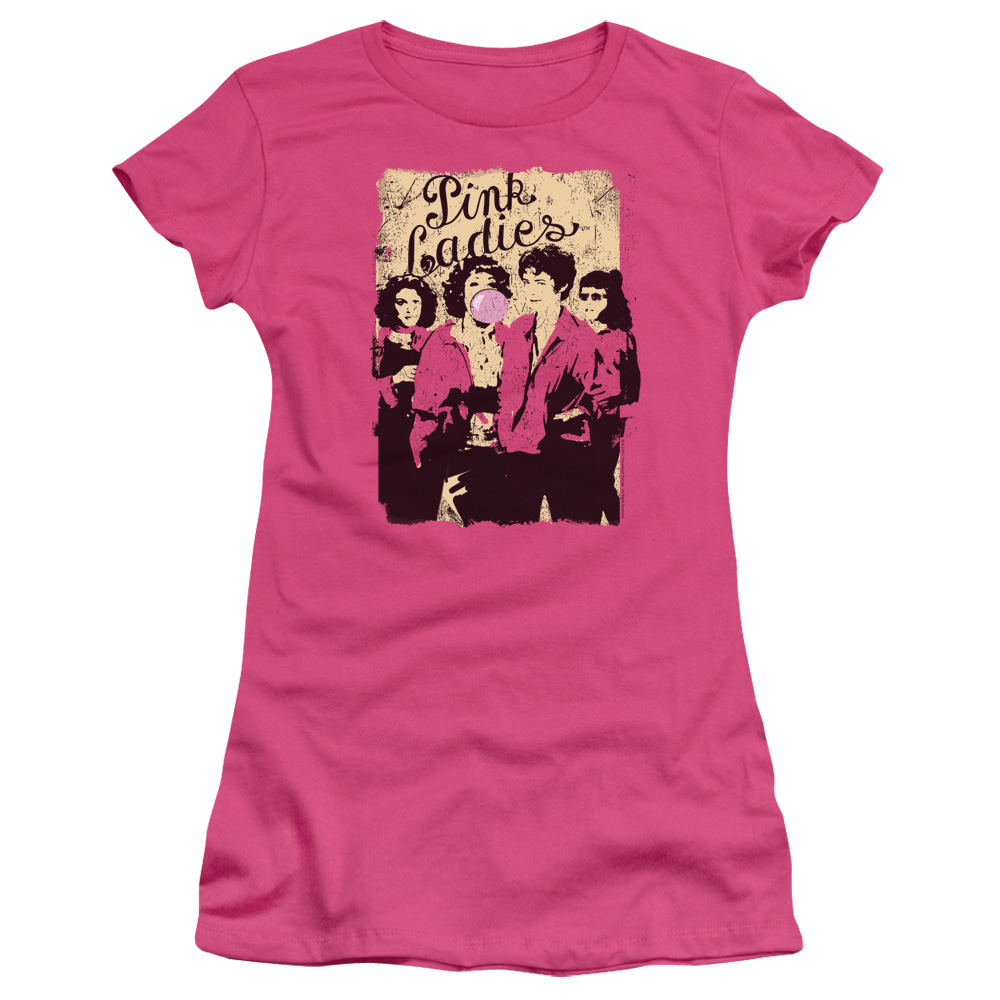 Grease The Pink Ladies Junior Fit T Shirt