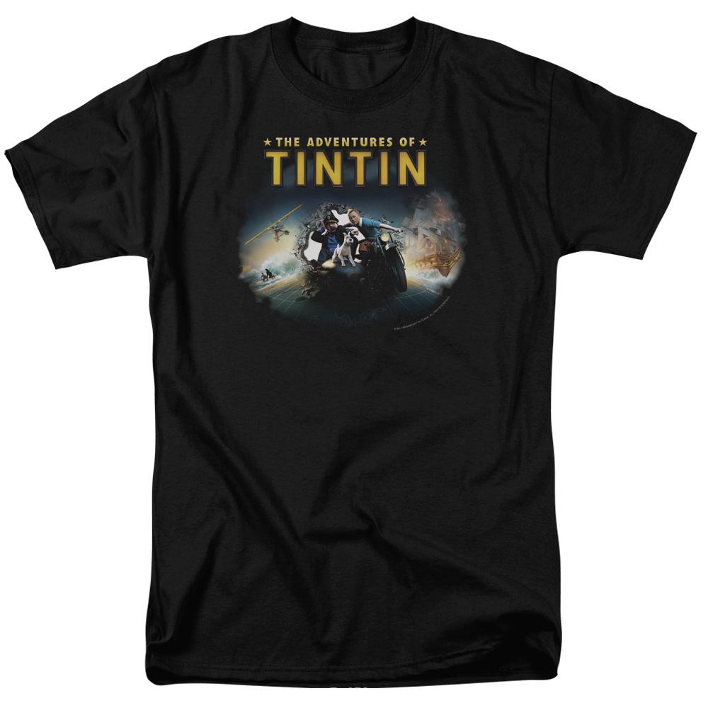 Journey The Adventures Of Tintin T-Shirt