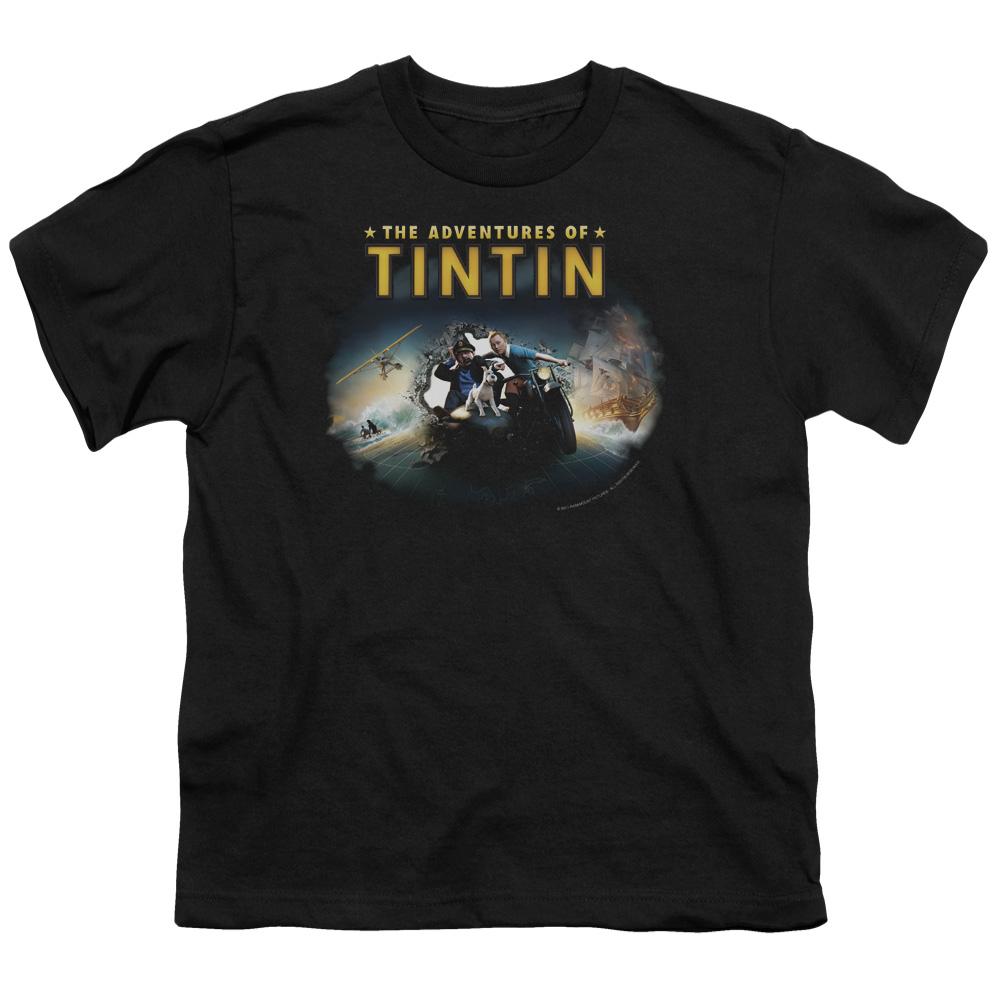 Journey The Adventures Of Tintin Kids T-Shirt