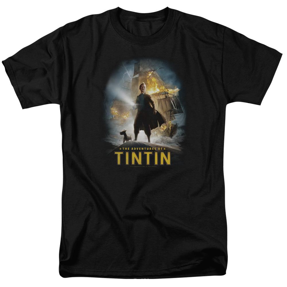 Adventures The Adventures Of Tintin T-Shirt