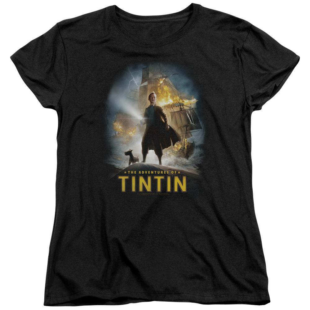Adventures The Adventures Of Tintin Women's T-Shirt