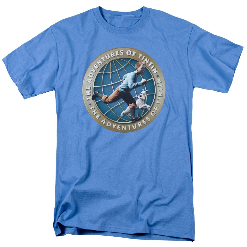 Around The Globe The Adventures Of Tintin T-Shirt