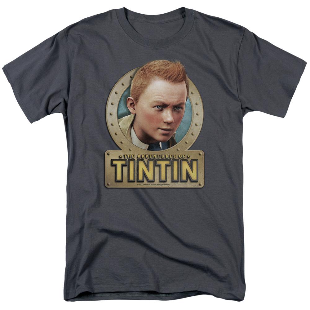 Metal The Adventures Of Tintin T-Shirt