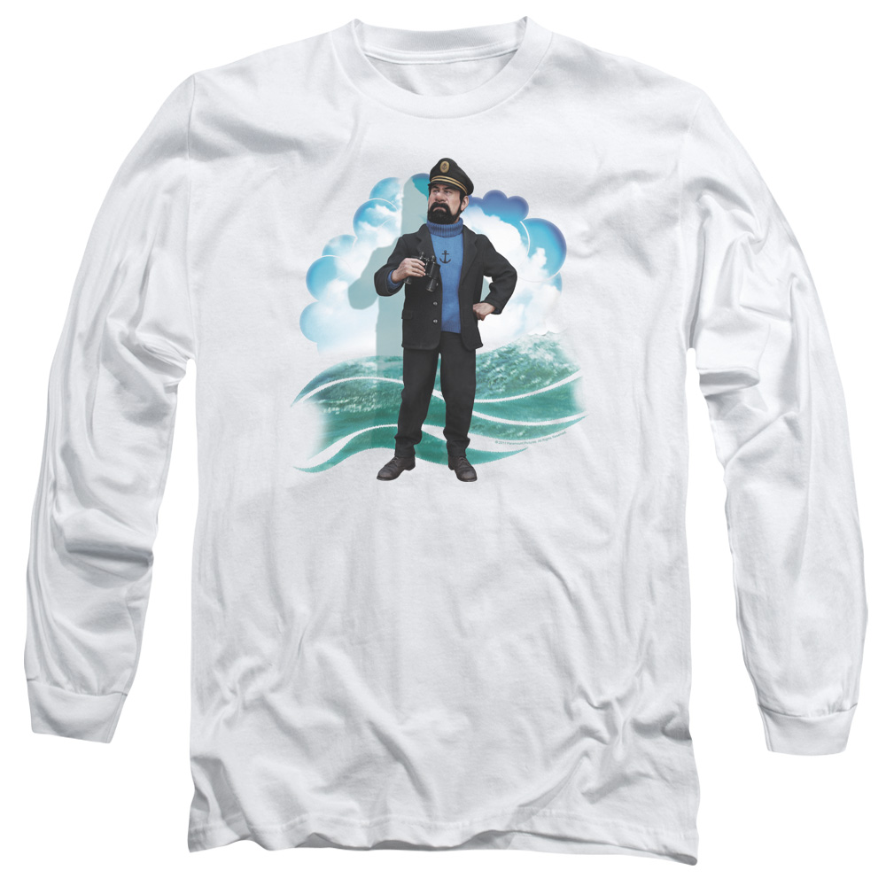 Haddock The Adventures Of Tintin Long Sleeve Shirt